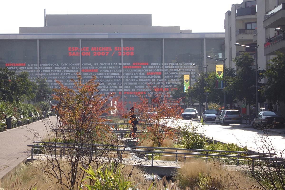 Espaces publics du centre ville noisy le grand espaces for Les espaces publics urbains